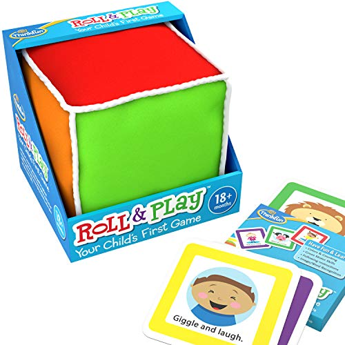 Think Fun Roll Roll and Play, Jeu pour Enfant Avant la Maternelle.