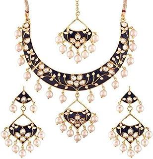 Black Women's Jewellery Sets: Buy Black Women's Jewellery Sets
