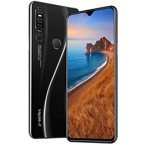 Móviles y smartphones libres Teléfono inteligente Android de 16 pulgadas y 16 pulgadas de 16 pulgadas, 4 + 64 GB de doble tarjeta de diez núcleos de huellas dactilares + desbloqueo facial Celulares y