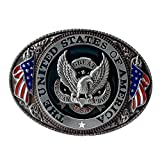Buckle Rage Belt Buckle Oval Eagle'The United States Of America'