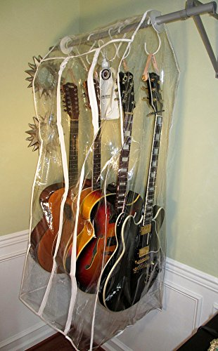 Jumbo Musik Tent Guitar Humidor Humidifier - 4 Hangers