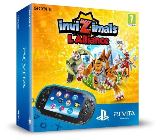 Console PS Vita WiFi + jeu à télécharger InviZimals : L'Alliance + Carte Mémoire 4 Go