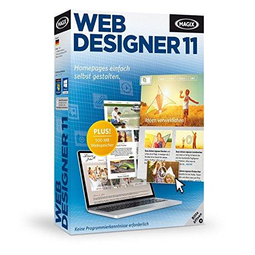 Preisvergleich Produktbild MAGIX Web Designer 11
