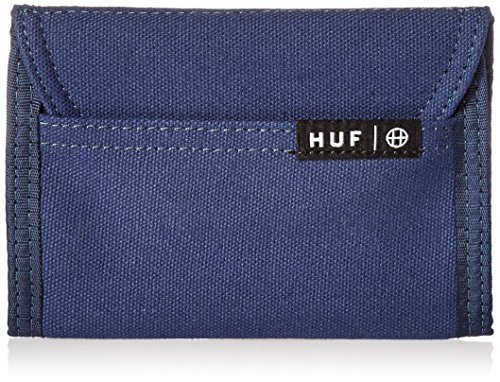 HUF Men's Trifold Wallet, Navy, One Size
