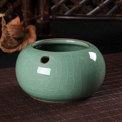 Gaojian Cenicero para Longquan Celadon cenicero de cerámica de Gran salón Cenicero,A