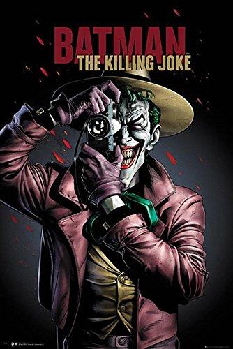 Póster Batman The Killing Joke/ Portada de la película de animación (61cm x 91,5cm) + embalaje para regalo