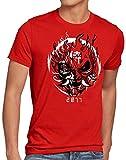 A.N.T. 2077 Samurai Camiseta para Hombre T-Shirt silverhand Johnny Band, Talla:L