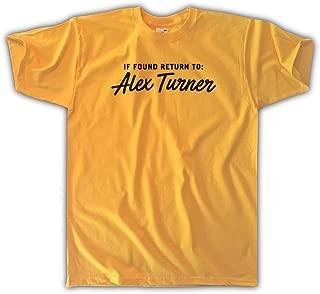 Men's Unisex If Found Return to Alex Turner T-Shirt