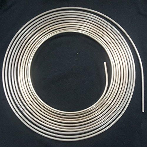 AUPROTEC 10m Bremsleitung Ø 6,0 mm Kupfer-Nickel Kunifer DIN 74 234 konform Bremsrohr Zubehör-Austausch-Bremsleitungen nur noch biegen und bördeln