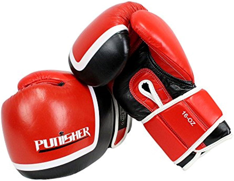 Klauenhammer, letzten Punch rot und schwarz schwarz schwarz Punisher Boxhandschuhe B015CA9V66  Hohe Sicherheit 337116
