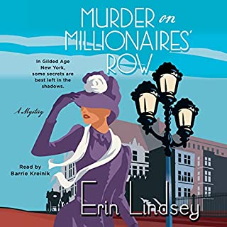 Murder on Millionaires' Row audiobook cover art