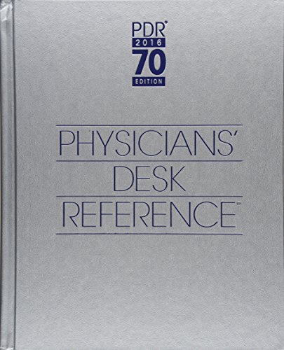Physicians' Desk Reference 2016 (Physicians' Desk Reference (Pdr))