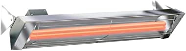 Infratech WD Series 6000 Watt 240V Electric Infrared Quartz Patio Space Heater