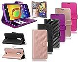 Alcatel A3 Plus 3G 5011A 5011X New Leather Flip Wallet