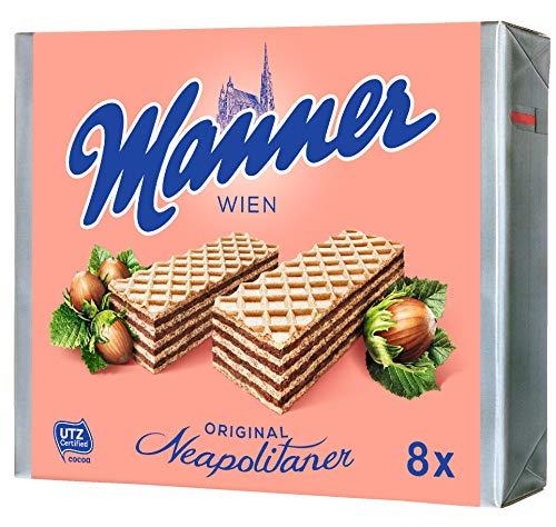 Manner Neapolitaner Schnitten Geschenkpackung, 10er Pack (10 x 600 g)