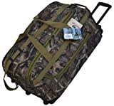 Best Rolling Duffels - Explorer Rolling Duffel Bag, Mossy Oak, 22-Inch Review