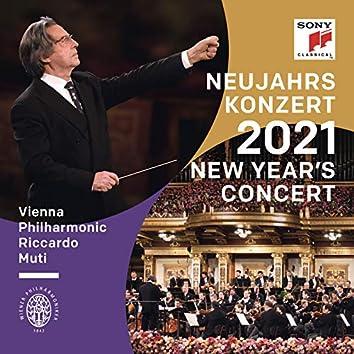 Neujahrskonzert 2021 / New Year's Concert 2021 / Concert du Nouvel An 2021 (Digital Audio Longplay #1 Deluxe 3 - Local Deluxe 3)