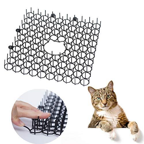 10St Cat Scat Mat Met Spikes, Humane Pet Deterrent Mat Voor Katten, Honden En More, Anti-Cats Network Graven Stopper Prickle Strip Plant Beschermende Net