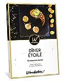 Wonderbox – Coffret cadeau prestige – DINER ÉTOILÉ – 8 restaurants étoilés pour 2 personnes