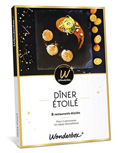 Wonderbox – Coffret cadeau prestige – DINER ÉTOILÉ