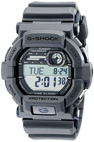 Casio G-Shock Quartz Watch with Resin Strap, Grey, 18 (Model: GD350-8)