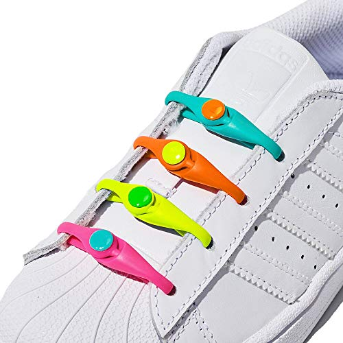 HICKIES Kids Tie-Free Laces - Ra...