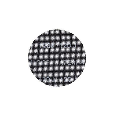 Dewalt Schleifgitter Extreme (80er Körnung, 150 mm Ø, mit Klettfix, für den Einsatz auf Exzenterschleifern, 10 Stück) DTM3133