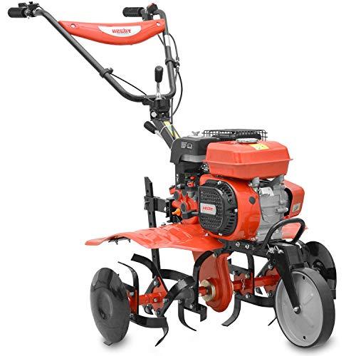 Hecht Benzin-Gartenhacke 796 Bodenhacke ( 4,5 kW / 6,12 PS, 80 cm Arbeitsbreite, 30 cm Arbeitstiefe)