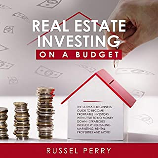Real Estate Investing on a Budget audiobook cover art