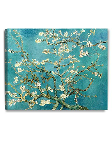 DECORARTS - Almond Blossom Tree - Vincent Van Gogh Art Reproduction. Giclee Canvas Prints