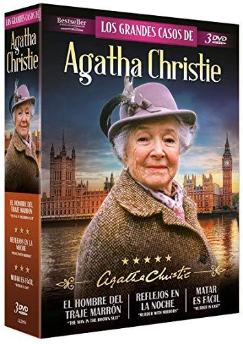 Los Grandes Casos de Agatha Christie: El Hombre del Traje Marrón + Reflejos en la Noche + Matar es Fácil - DVD