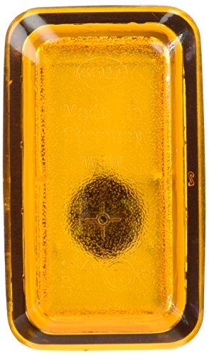 HELLA 2BM 003 647-021 Zusatzblinkleuchte - Glühlamp - W5W - 12V - Lichtscheibenfarbe: gelb - Einbau - Einbauort: links/rechts/seitlicherEinbau