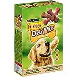 PURINA FRISKIES DeliMix Biscotti Croccanti per Cane 3 Varietà Manzo, Pollo e Selvaggina- 6 scatole da 500g ciascuna