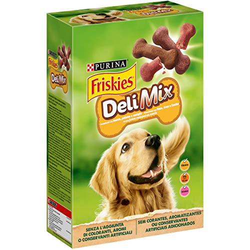 Purina Friskies Biscotti DeliMix per Cani Adulti, 500g