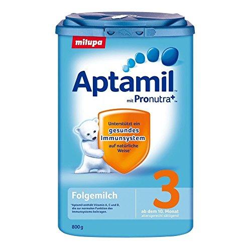 Aptamil 3 opvolgmelk met Pronutra, verpakking van 10 (10 x 800 g)