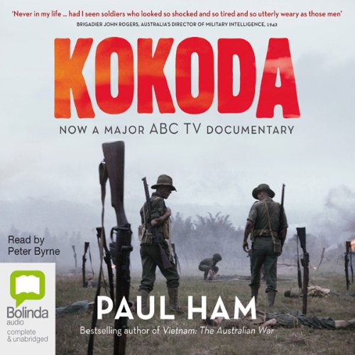 Kokoda (by Paul Ham) audiobook cover art