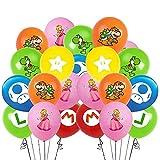 Ballons d'anniversaire Super Mario - Papt Super Mario - Accessoire de fête...