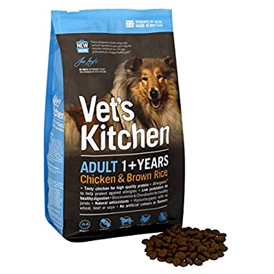 Vet's Kitchen Chicken and Brown Rice Adult Dog Food by Vet's Kitchen