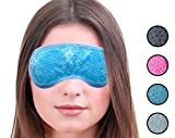 Best Cold Eye Mask For Puffy Eyes - Hot or Cold Medical Eye Mask - Reusable Review