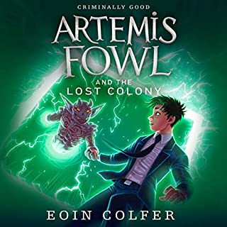 Couverture de Artemis Fowl and the Lost Colony