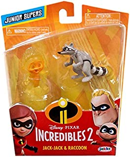 The Incredibles 2 Junior Supers Wave 2 Jack-Jack & Raccoon
