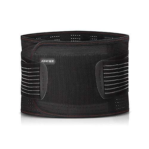 ZFF Auto-Calentamiento Soporte Lumbar Cinturón,Apoyo Lumbar Transpirable De Malla Paneles...