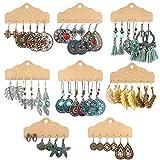 Boho Earrings for Women Girls, Funtopia 24 Pairs Bohemian Drop Dangle Earrings Set, Retro Statement Vintage Earrings Alloy Long Pendant Earrings