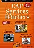 CAP Services hôteliers 2ème année - Elève by Jean-François AUGEZ-SARTRAL (2014-05-15) - Editions BPI - 15/05/2014