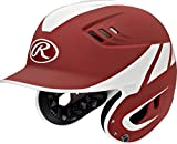 Rawlings Sporting Goods Casco de béisbol Senior R16, tamaño lejano, Cardinal