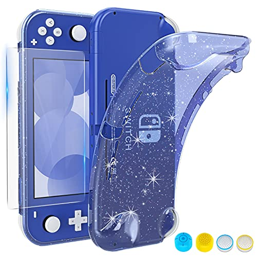 HEYSTOP Case Compatible with Nintendo Switch Lite (Blue)