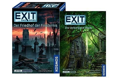 EXIT Kosmos Spiel: Der Friedhof der Finsternis Buch: Die verborgene Stadt (Level: Fortgeschrittene)