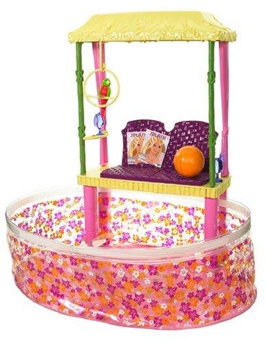 Mattel Barbie Tropical Beach Pool Spiel Set