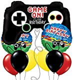 Video Game Controller Gaming Birthday Design Set of 9
