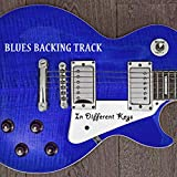 Minor Blues Guitar Backing Track in Different Keys